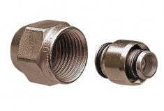 Uponor Alupex kompressionskobling 16mm x 1/2''