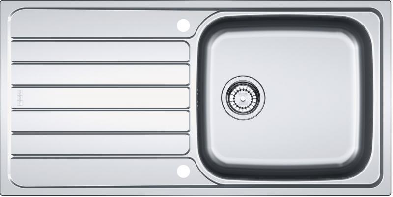 køkkenvask stål Franke SKX 611 L Rustfri stål køkkenvask   VVS nr.: 101.0319.685 køkkenvask stål