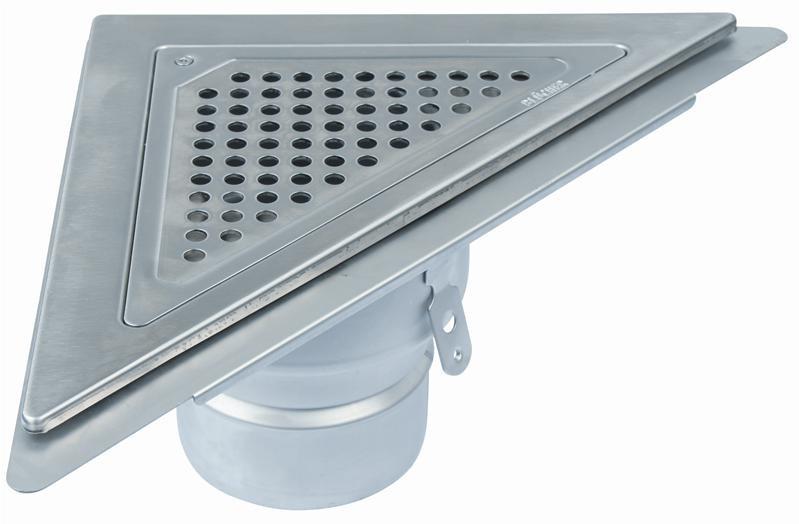 Topnotch Blücher Waterline design trekant afløb Ø110mm vvs nr 153301216 RZ31