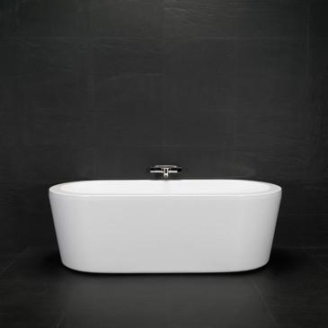 Badekar fritstående