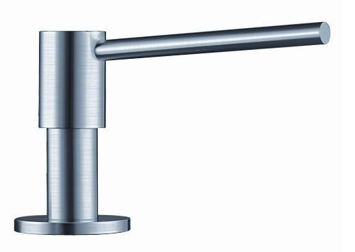 sæbedispenser til køkkenvask Blanco Piona sæbedispenser   Rustfri stål   VVS nr.: 517537 sæbedispenser til køkkenvask