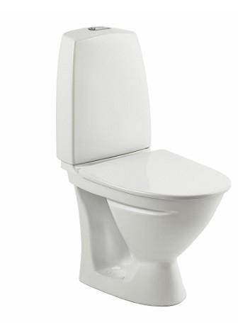 Ifö Sign toilet 6832 - Kort model m/Ifö clean og universallås - VVS nr.: 601012200