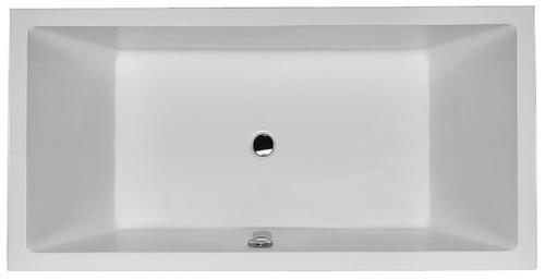 duravit badekar Duravit Starck badekar 1800x900 mm   2 Ryglæn   VVS nr.: 667946000 duravit badekar