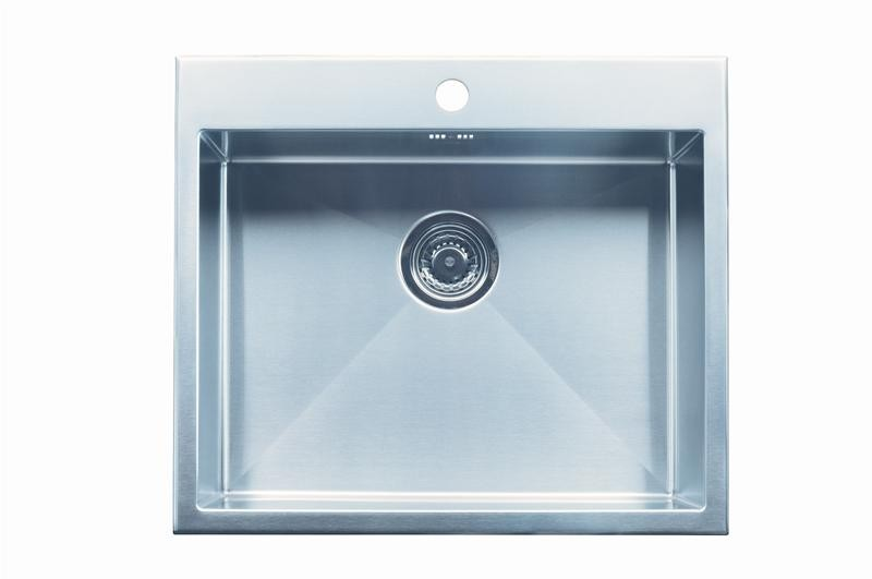 Intra Quadra 530TH-TM køkkenvask til nedfældning - 681257130