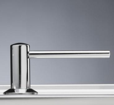 sæbedispenser til køkkenvask Intra sæbedispenser til køkkenvask i krom   Lang model   VVS nr  sæbedispenser til køkkenvask