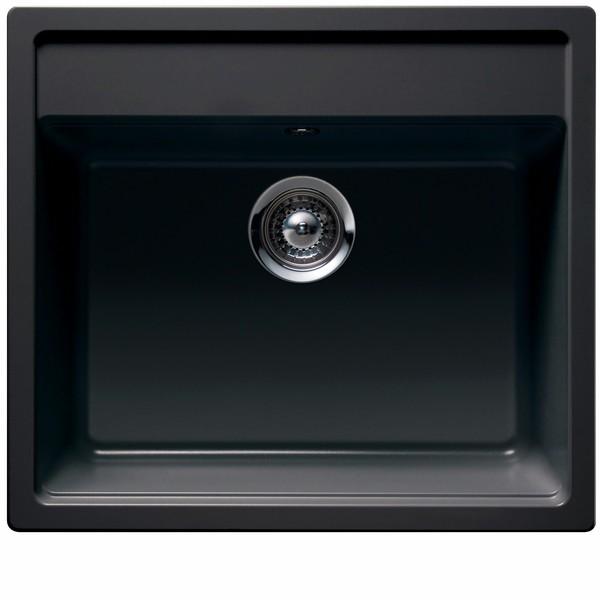 sort håndvask Vi har Intra Nemo køkkenvask i sort granit   682627101 billigt hos  sort håndvask