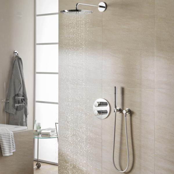 rainshower bruser Grohe Rainshower 310 brus til indbygning   722307824 rainshower bruser