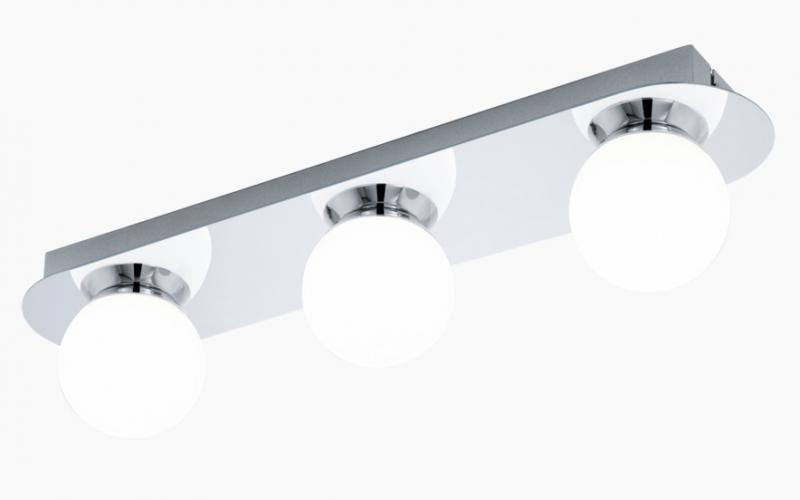 Eglo Mosiano 3 LED v u00e6glampe til bad Krom VVS nr EGLO 94628