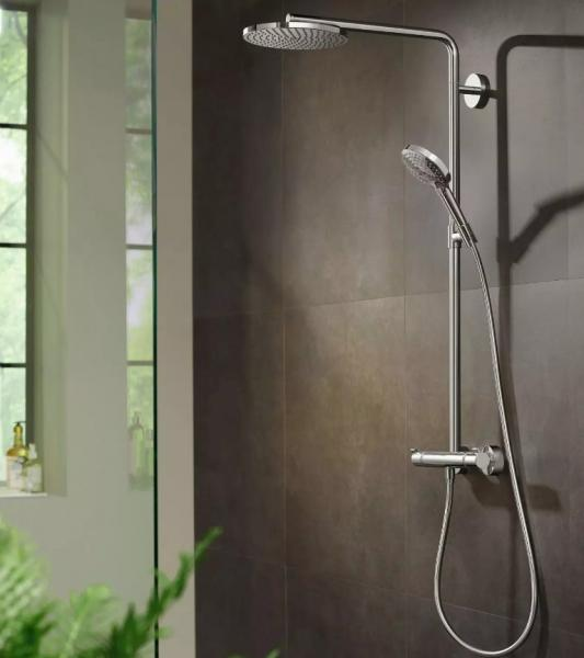 Hansgrohe Raindance Select S 240 PowderRain brusesystem - Krom